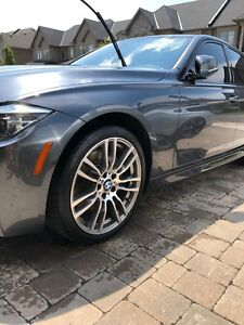 "Almost brand new 19"" bmw m sport wheels, open to trades!"