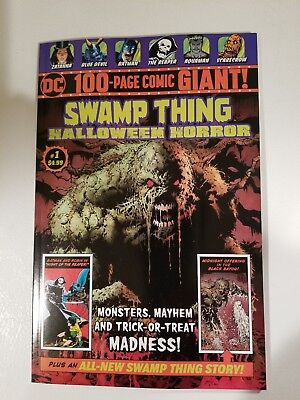 DC 100-Page Giant Wal-Mart Exclusive Swamp Thing Halloween Special #1 - Wal Mart Halloween