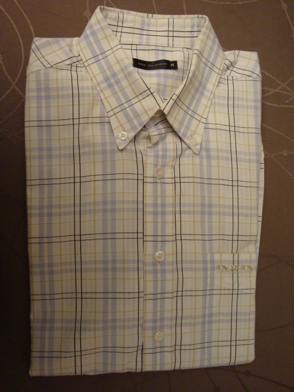 Chemise mise au green - manches courtes - taille m