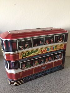 Trolley Look Collector Tins