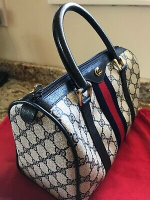 New Gucci Vintage Sherry Line Handbag,never used,not a knock-off,rare, store bag