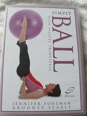 Simply Ball (DVD) With Pilates PRINCIPLES-BALANCE -MOVEMENT- CONTROL-FITNESS
