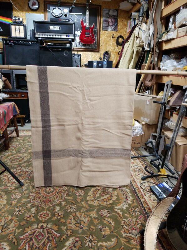 Wool Blanket Vintage Camp Style