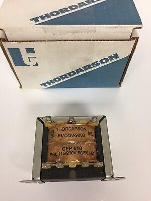 Cfp-610 Thordarson Transformer Dual Primary 115230 Vac