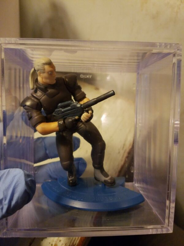 """Ghost in the Shell Batou Figure  Authentic 4.5"""" Megahouse Japan"""