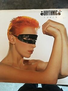 Eurythmics Touch LP used