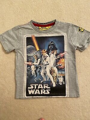 Boys Star Wars T-shirt Age 3-4 Years As266