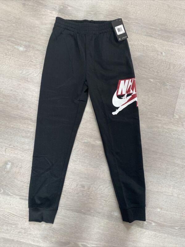 Nike Air Jordan Athletic Sweatpants Size L Youth Boys 12-13 Yrs Black 95A434-023