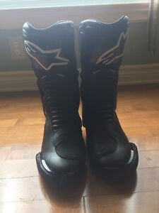 Smx-6 Alpinestars boots great condition