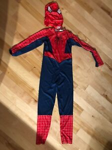 Costume d'halloween , Spiderman , médium/large 8-10 ans