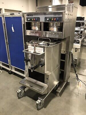Fetco Cbs-72a Coffee Maker W. Fetco Lbd 24 Portable 24 Gallon Thermal Dispense