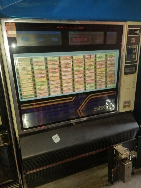 Rockola jukebox machine