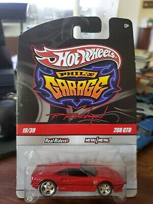 HOT WHEELS PHIL'S GARAGE RED FERRARI 288 GTO 19/39 from 2009 ~ EXCELLENT! VHTF