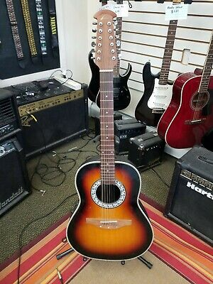 Ovation Celebrity CC65 12 String Acoustic Electric in good shape