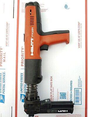 Hilti Dx 351 Powder Actuated Gun Tool W X-mx32 Magazine Fast Shipping