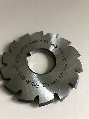 Involute Spline Cutter 1 Module 30pa 5