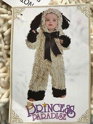 HALLOWEEN Woolly Lamb Toddler Costume Princess Paradise Baby 12-18 mo - Lamb Toddler Costume