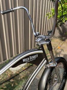 Wild turkey chopper bike