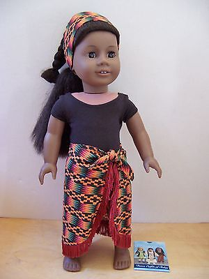 American Girl ADDY AFRICAN DANCE OUTFIT New - Doll Not Included