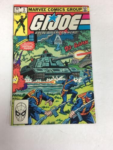 GI Joe # 5 Marvel Comics   Fine-