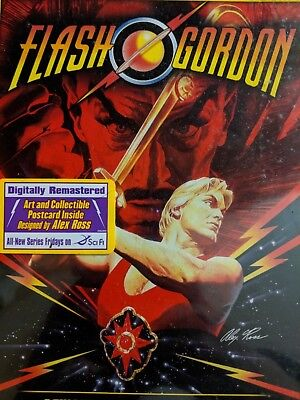 Flash Gordon DVD new never opened with free art collectible inside