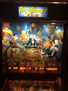 Bugs bunny birthday bash pinball