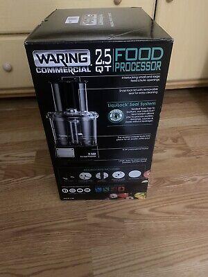 Waring Commercial 2.5 Qt Food Processor Wfp11srd