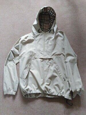 Burberry Men's Shower Proof Jacket Size Med
