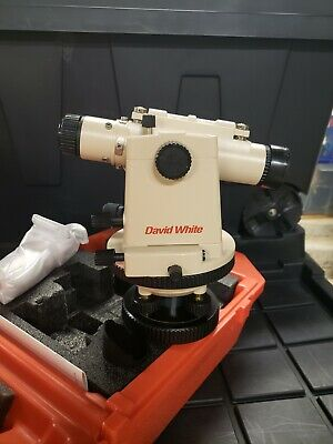 David White Survey Transit Level Lt8-300p With Case