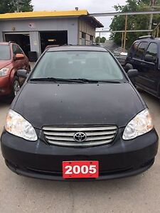 2005 Toyota Corolla ~ LOW KMS, PRIVATE SALE & SAFETIED!
