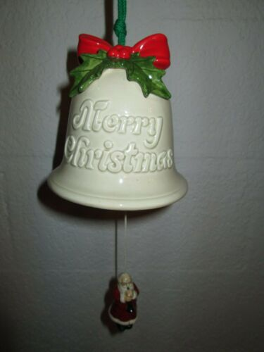 MUSICAL HANGING CHRISTMAS BELL
