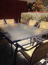 Outdoor setting 10 seater and 8 wicker chairs Nedlands Nedlands Area Preview