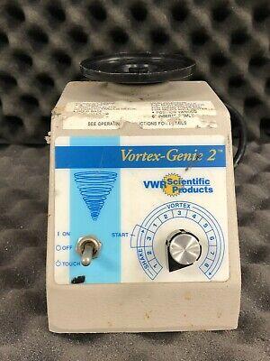 Vwr Scientific Products Vortex Genie-2 G-560 Mixer Shaker Nice Unit