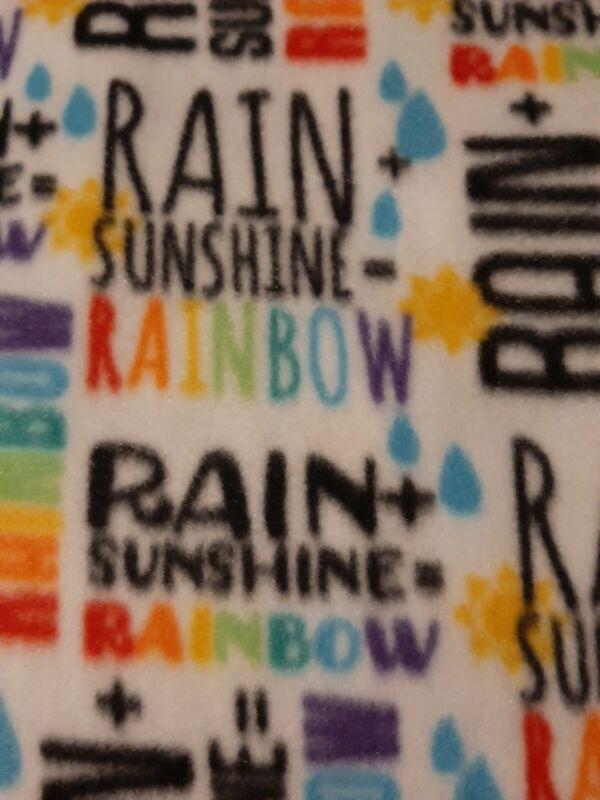 Guniea pigs Midwest Blanket Cage Liner 24x47 Rain sunshine rainbow 20.00