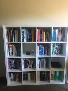 High Gloss White 4x4 IKEA Kallax bookshelf North Sydney North Sydney Area Preview