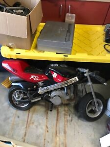 Red Suzuki Pocket Bike