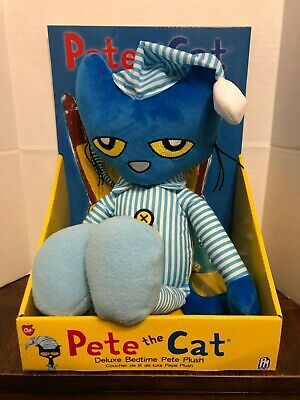 Pete The Cat Doll (Pete The Cat Deluxe Bedtime Pete Plush 15