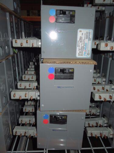 Starline Busway Tap Box Cbdc100e12-1-l630c-4 30a 2p 208y/120v (red/blue) Used