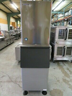 Hoshizaki Km-515-mwh 500 Lbs. Ice Machine Wice Bin Water Cooled 22w