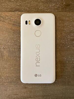 LG Nexus 5X (H790) 32GB White (Quartz) Factory Unlocked - Excellent Condition