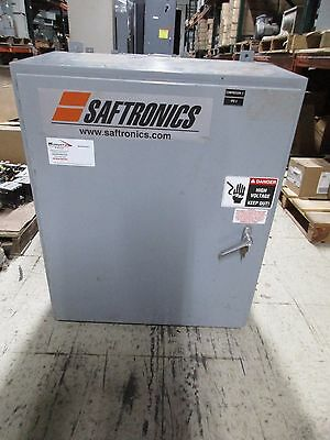 Saftronics Enclosed Soft Start 2031201 200hp Output 0-460v 0-240a Used