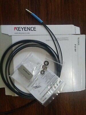 Keyence Digital Fiber Optic Sensor Fu-6f Fu6f Original New In Box Nib Free Ship