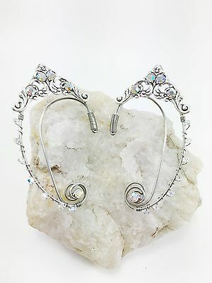 Elven Ear Cuffs - Wire Ear Cuffs - Fairy Ear Cuffs - Ear Wraps - Non Piercing