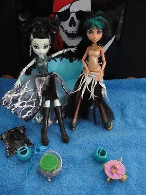✿● Mattel Monster High : Cleo Ghouls Rule Halloween Frankie