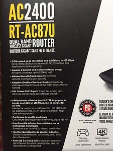 Asus AC2400 Dual brand ROUTER