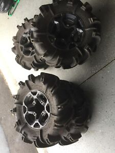 Outlander rims and tires