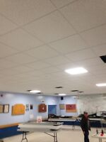 Suspended T-Bar Ceilings