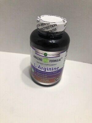 Amazing Formulas L-Arginine 1000mg Supplement - Best Amino Acid Arginine