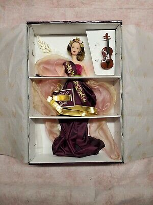 Mattel 1998 Heartstring Angel Barbie Doll Angels of Music Collection