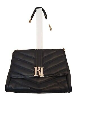 River island bag, black and gold, new without tags